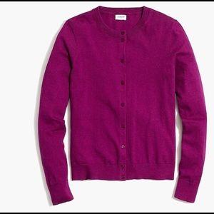 J. CREW Caryn Cardigan Sweater Women's MEDIUM EUC